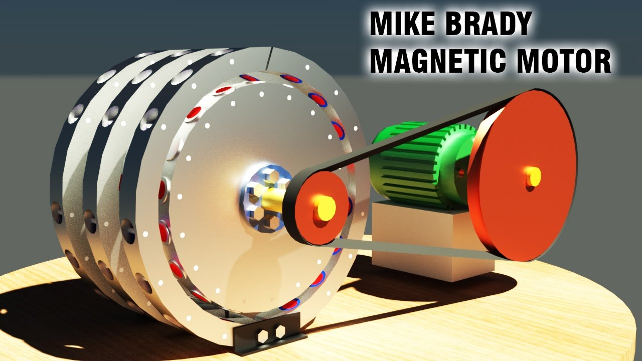 free energy generator mike brady permanent magnet machine amazing generator youtube