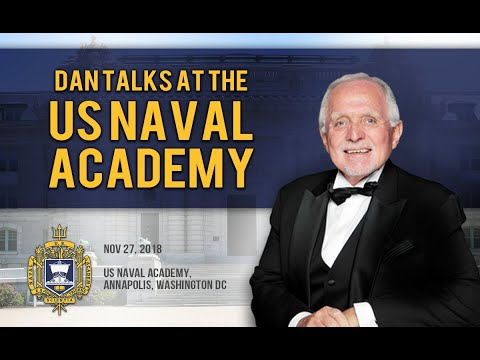 Dan Talks At The US Naval Academy (Annapolis)