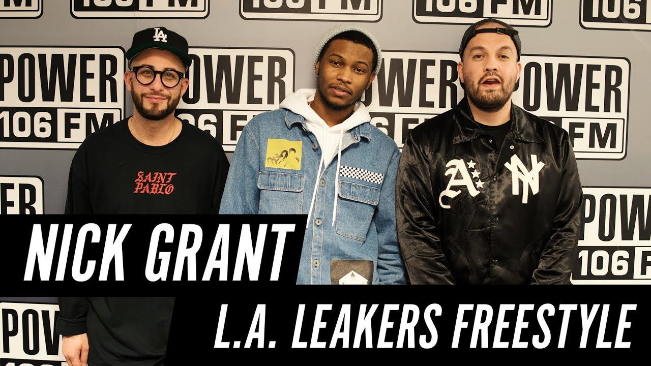 Nick Grant Freestyle w/ The L.A. Leakers - Freestyle #041
