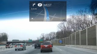 Driving Directions with Google Glass Free HD Video