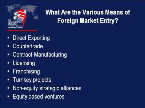 How to Identify International Markets for Your Products