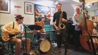 The Old Malthouse Jazz Band at Cafe Jazz, Sandringham Hotel, Cardiff.