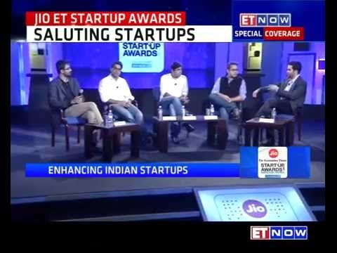 Top CEOs Discuss Indian Startup Ecosystem & More At Jio-ET Startup Awards