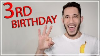 3 years on youtube | michael cost
