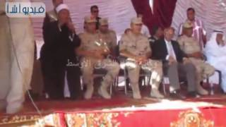 بالفيديو : عسكر: إهتمام كبير من الرئيس السيسى بتنمية وتعمير سيناء