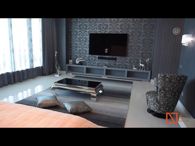 Luxury Master Bedroom at Waterfront Penthouse