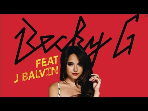 Becky G - Can't Stop Dancin' (J Balvin Remix) [Lyric Video]