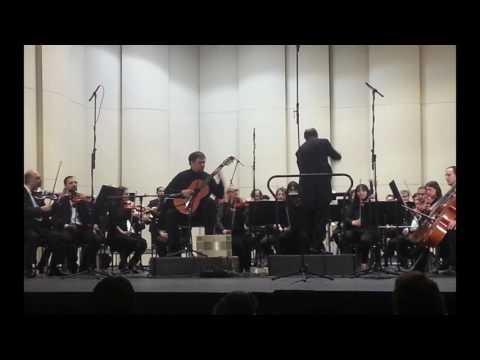 Eduardo Alonso Crespo, 1 Mov. Concierto para guitarra y orquesta