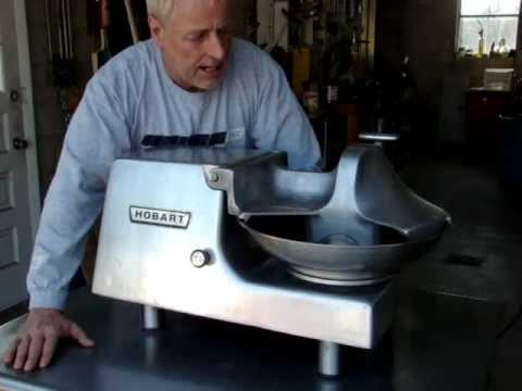 Hobart 84145 Commercial Buffalo Food Chopper Cutter