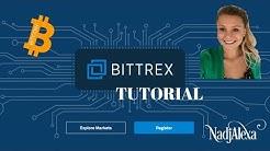 Bittrex Tutorial deutsch - Anleitung zum Kaufen und Handeln von Bitcoins und Kryptowährungen