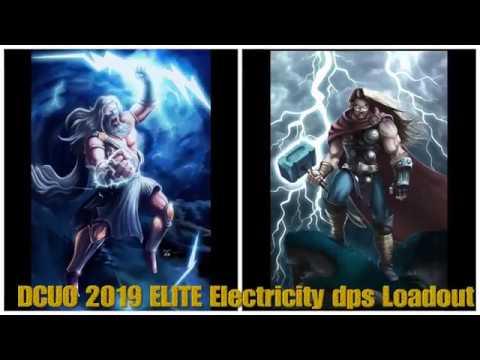 DCUO 2019 ELITE Electricity dps Loadout  MUST WATCH!!!!