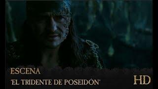 Piratas del Caribe: La Venganza de Salazar | Escena : 'El tridente de Poseidón' | HD