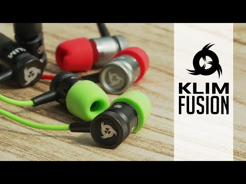KLIM Fusion - Les écouteurs Innovants Et Durables