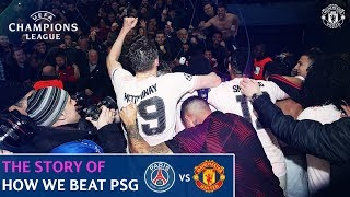 Manchester United v Barcelona  | The story of PSG 1-3 Man Utd  | UEFA Champions League | Round of 16