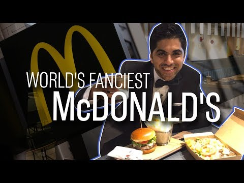 We tried out the world's fanciest McDonald's | CNBC Reports