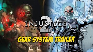 Injustice 2: Gear System Trailer & Mr Freeze Tease