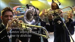 Banda Sinaloense MS de Sergio Lizárraga - Háblame De Ti (Letra)