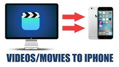 How to transfer videos/movies from computer to iphone using itunes