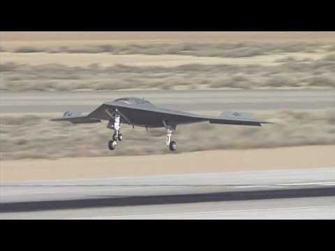 First X-47B unmanned stealth bomber flight