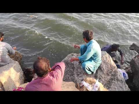 Fishing at Dodarya cliften karachi