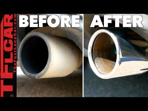 Revealed: The Easy Trick to Make Your Exhaust Tips Shiny & Clean!