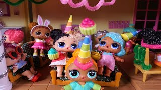 LOL SURPRISE DOLLS Throw A Party When BARBIE And KEN Go Out!