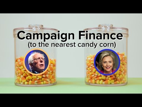 Political Campaign Funds In Candy Corn