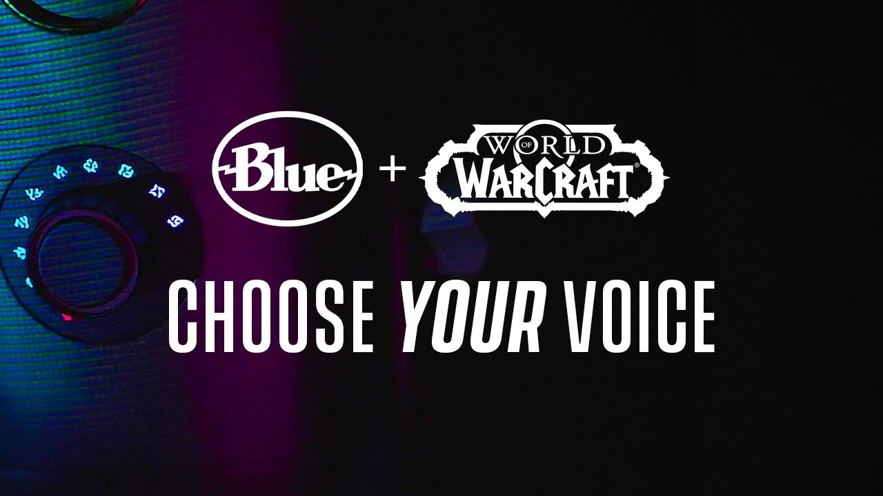 10.13.20 Choose Your Voice with World of Warcraft #Shadowlands