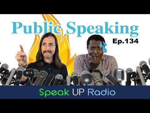 ネイティブ英会話ラジオ【Ep.134】演説//Public Speaking - Speak UP Radio