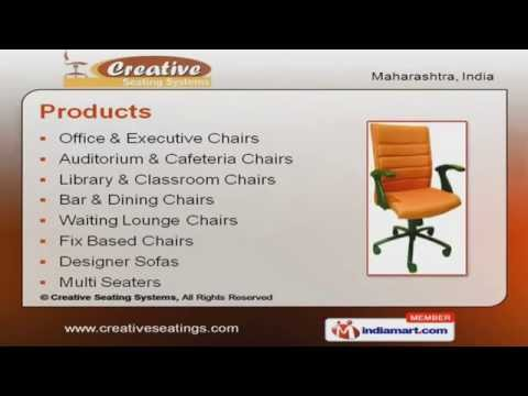 Fix Based Chairs by Creative Seating Systems, Pune