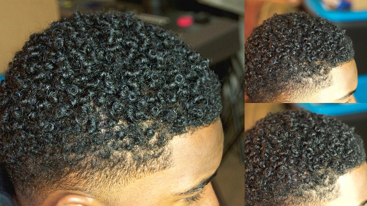 How To Get Curly Hair For Black Men With Short Hair Youtube