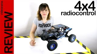 WL Toys Wild Truck Warrior 4WD RC, review -increíble carrera off road-