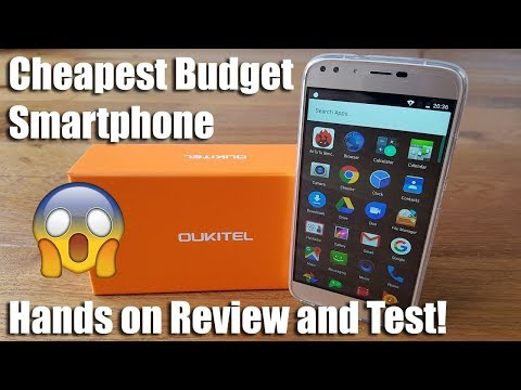 Oukitel U22, 2GB RAM 16GB ROM [Hands on Review and Test] Cheapest Budget Smartphone!