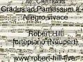 M. Clementi: Allegro vivace Robert Hill, fortepiano