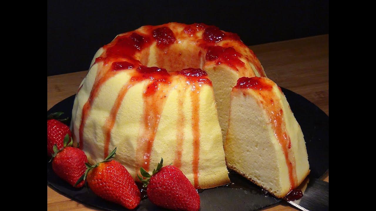 Receta Tarta de queso japonesa - Recetas de cocina, paso a paso, tutorial