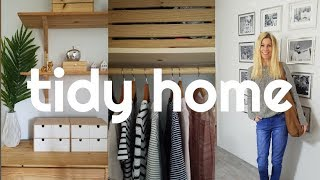 TIDY HOME -Tips for tidy home