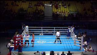 sea game 2015 - boxing men semifinal philippines vs. laos - philippines win