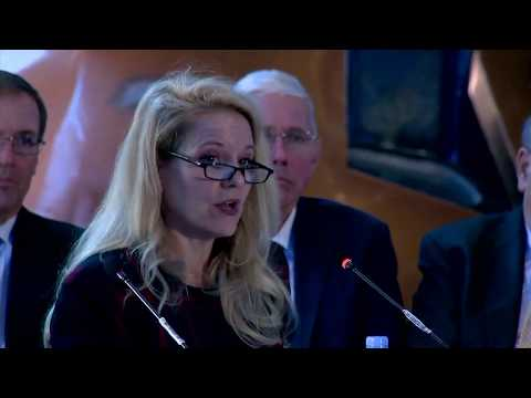 SpaceX President Gwynne Shotwell Opening Statement at the National Space Council Meeting