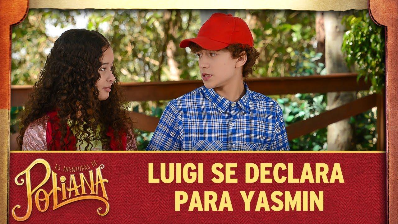 Luigi se declara para Yasmin | As Aventuras de Poliana