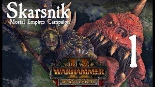 Total War: Warhammer 2 Mortal Empires - Skarsnik Campaign #1