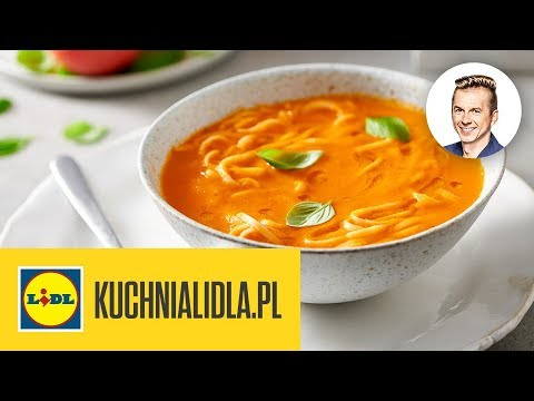Zupa Pomidorowa Z Domowym Makaronem Karol Okrasa Kuchnia