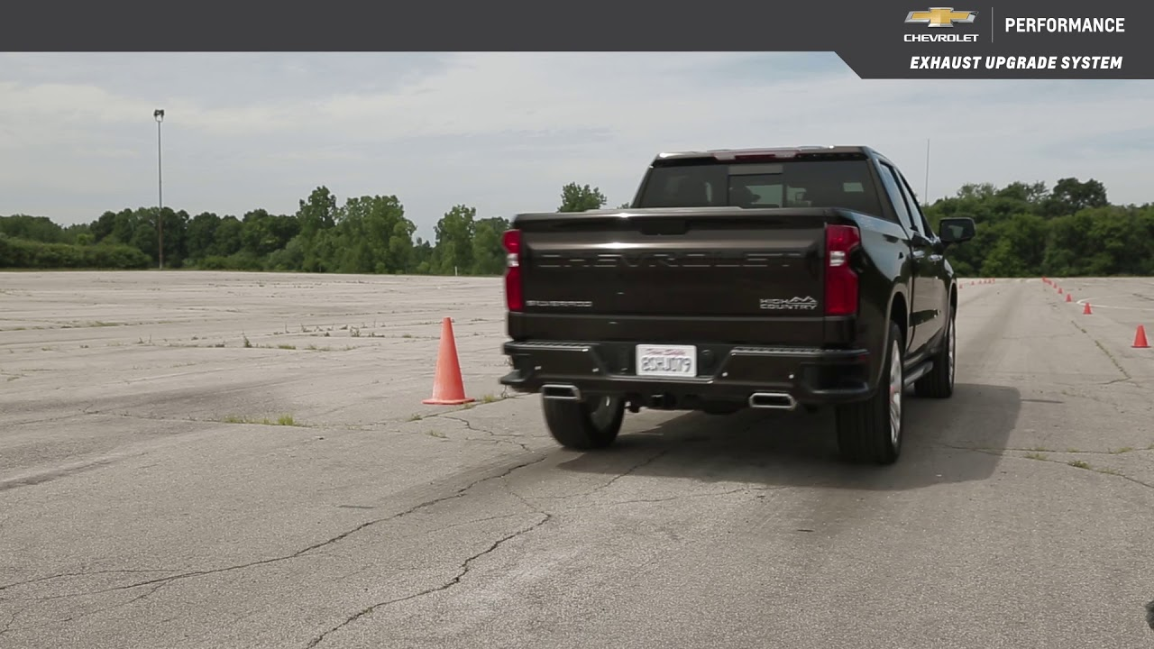 2019 Silverado 1500 Crew or Double Cab Performance Exhaust, 6 2L, Dual Rear  Exit, Short Wheel Base