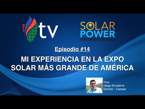 Lo que Aprendí en la Expo Solar más Grande de América - Cemaer Tv #14