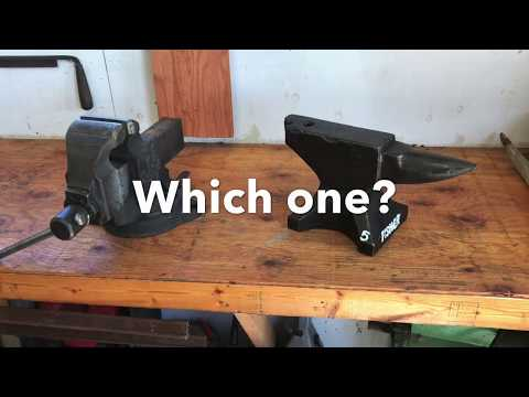 Fisher Anvil Or A Parker Vise.......You Choose! My Anvils & Vises Tour.