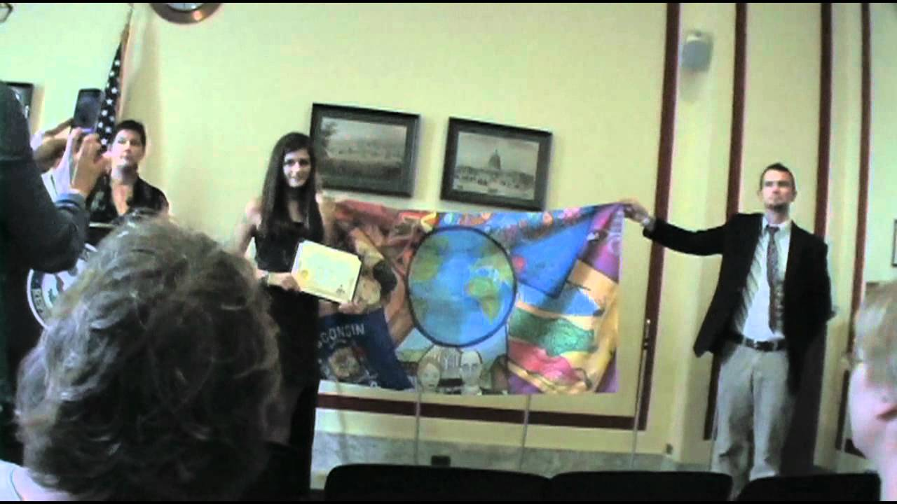 2012 youth art month flag ceremony youtube