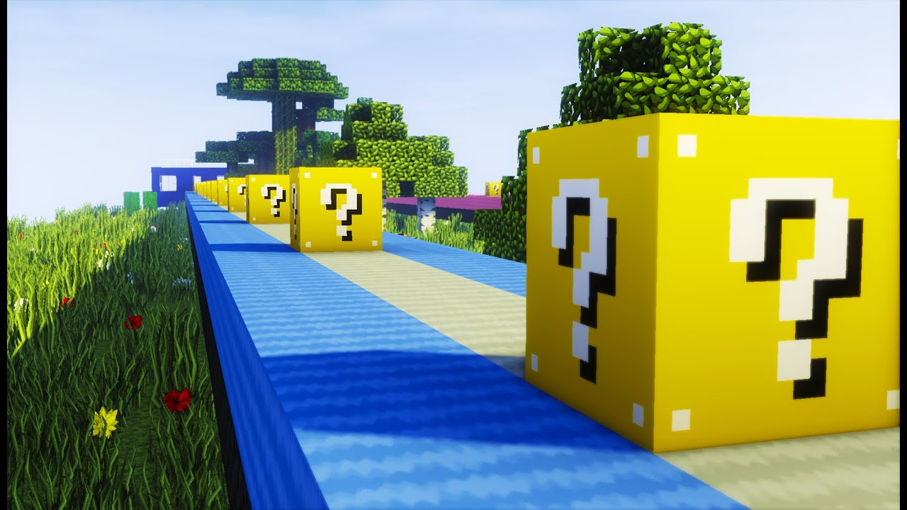 how to get lucky blocks on minecraft