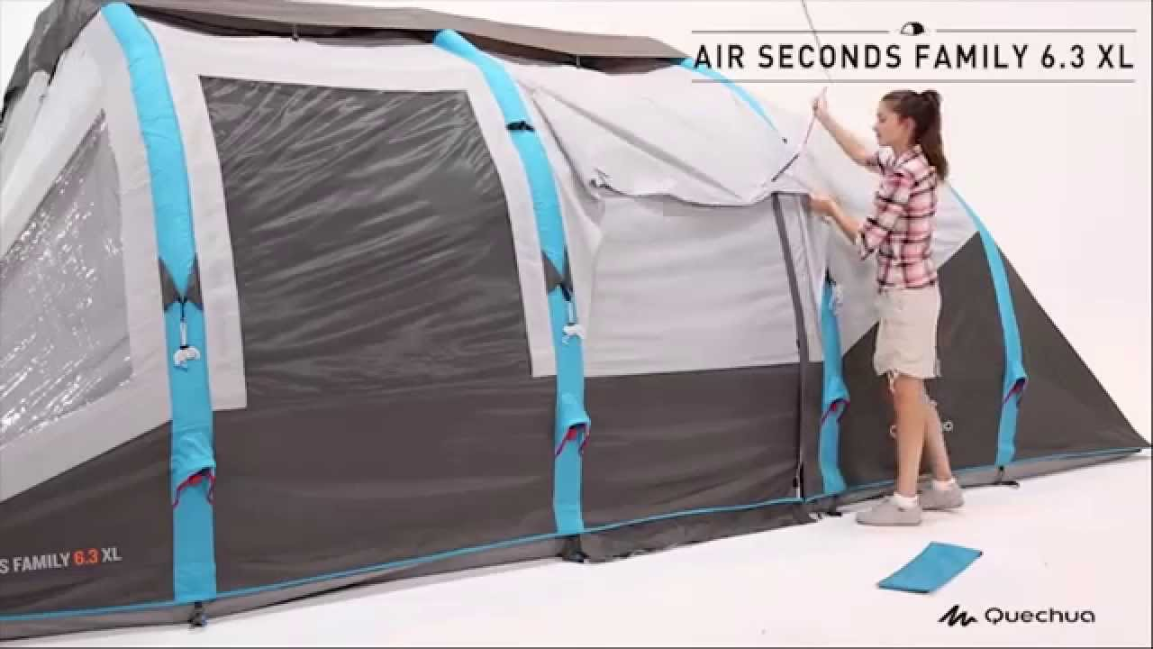b9ecf7d09 Barraca Air Seconds Family 6.3 XL Quechua - Exclusividade Decathlon ...