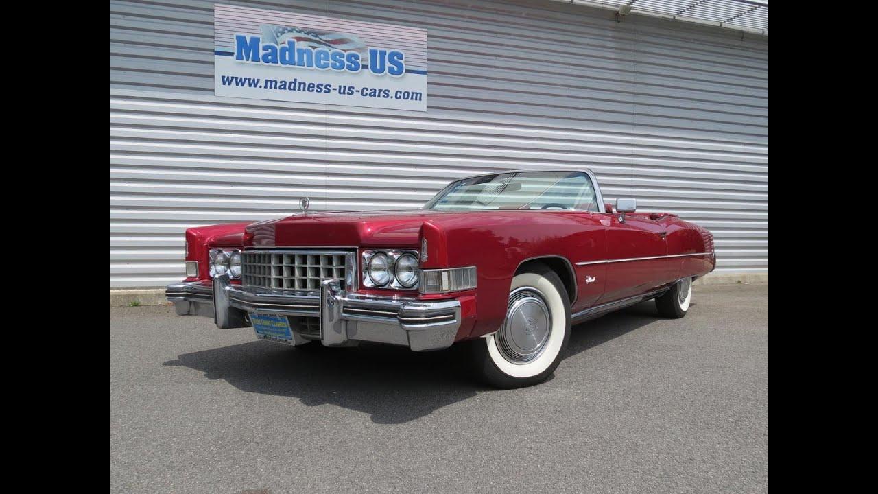 Cadillac Eldorado Cabriolet : cadillac eldorado cabriolet 1973 youtube ~ Medecine-chirurgie-esthetiques.com Avis de Voitures
