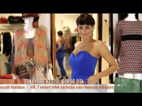 Görög Zita elkezdte az esküvői szervezkedést  2015.12.04.  tv2.humokka