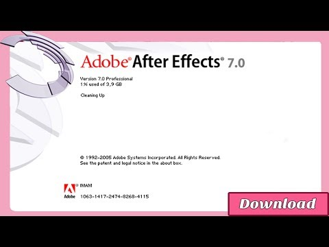 Download Adobe After Effects 7.0 (CS2)...